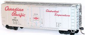 Accurail 40 Plug-Door Insulated Boxcar Kit Canadian Pacific HO Scale Model Train Freight Car #31051