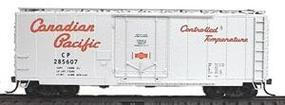 Accurail 40 AAR Plug Door Box Car Kit Canadian Pacific (silver) HO Scale Model Train Freight Car #3105