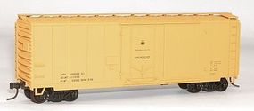 Accurail AAR 40 Plug-Door Boxcar - Kit - Data Only (yellow) HO Scale Model Train Freight Car #3195