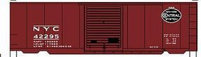 Accurail 40 PS-1 Steel Boxcar - Kit - New York Central #42295 HO Scale Model Train Freight Car #34391