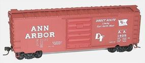 Accurail 40 PS-1 Steel Boxcar - Kit - Ann Arbor #1409 HO Scale Model Train Freight Car #3450