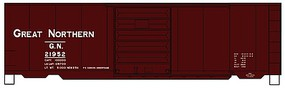 Accurail 40 PS-1 Steel Boxcar GN - HO-Scale
