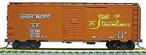 Accurail 40 Single-Door Steel Boxcar Kit Union Pacific HO Scale Model Train Freight Car #3504