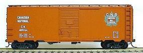 Accurail AAR 40 Single-Door Steel Boxcar Kit Canadian National HO Scale Model Train Freight Car #3508