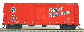 Accurail AAR 40 Single-Door Steel Boxcar - Kit Great Northern HO Scale Model Train Freight Car #3509