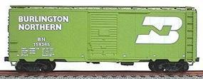 Accurail 40 Single-Door Steel Boxcar Kit Burlington Northern HO Scale Model Train Freight Car #3515