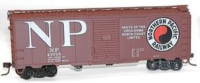 Accurail 40 AAR Steel Boxcar Northern Pacific HO Scale Model Train Freight Car #35221