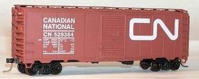 Accurail 40 Single-Door Steel Boxcar - Kit Canadian National HO Scale Model Train Freight Car #3533
