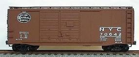 Accurail New York Central 40 AAR Double Door Steel Boxcar HO Scale Model Train Freight Car #3603