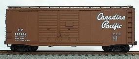 Accurail 40 AAR Double-Door Boxcar Kit Canadian Pacific HO Scale Model Train Freight Car #3606