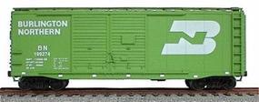 Accurail 40 AAR Double-Door Boxcar Kit Burlington Northern HO Scale Model Train Freight Car #3613