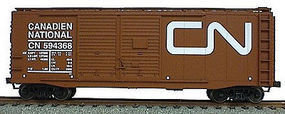 Accurail 40 Double-Door Boxcar - Kit Canadian National (Oxide) HO Scale Model Train Freight Car #3615