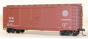 Accurail Western Maryland 40 Dbl Door Steel Boxcar (Re-Issue) HO Scale Model Train Freight Car #3627