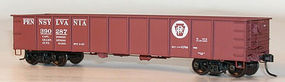 Accurail 41 Steel Gondola - 3-Number Set - Pennsylvania HO Scale Model Train Freight Car #37074