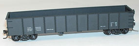 Accurail 41 Steel Gondola Kit Data Only (black) HO Scale Model Train Freight Car #3797