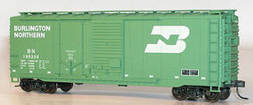 Accurail 40 Combo Door Steel Boxcar Burlington Northern HO Scale Model Train Freight Car #3806