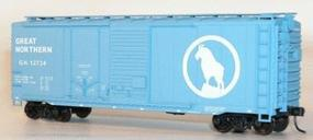 Accurail 40 Combination Door Steel Boxcar Kit Great Northern HO Scale Model Train Freight Car #3807