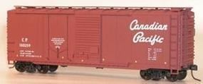 Accurail 40 Combination Door Steel Boxcar Kit Canadian Pacific HO Scale Model Train Freight Car #3809