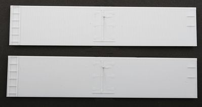 Accurail Wood Reefer Sides - 1 Pair -- HO Scale Model Train Freight Car Part -- #421