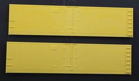 Accurail Steel Reefer Sides - Hinged-Door Version 1 Pair HO Scale Model Train Freight Car Part #423