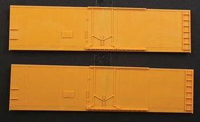 Accurail Steel Reefer Sides - Plug-Door Version 1 Pair HO Scale Model Train Freight Car Part #424