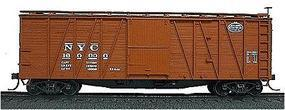 Accurail 40 Wood Outside-Braced Boxcar New York Central HO Scale Model Train Freight Car #4305