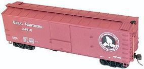 Accurail 40 Double-Sheathed Wood Boxcar Kit Great Northern HO Scale Model Train Freight Car #4639