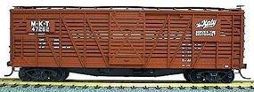 Accurail 40 Wood Stock Car Kit Missouri-Kansas-Texas Katy HO Scale Model Train Freight Car #4705