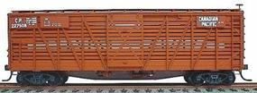 Accurail 40 Wood Stock Car - Kit (Plastic) - Canadian Pacific HO Scale Model Train Freight Car #4711
