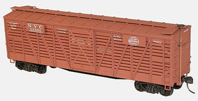 Accurail 40 Wood Stock Car NYC HO Scale Model Train Freight Car #47131
