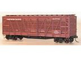 Accurail 40 Wood Stock Car - Kit (Plastic) - Northern Pacific HO Scale Model Train Freight Car #4730