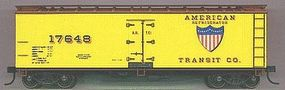 Accurail 40 Wood Reefer - Plastic Kit - New York Central HO Scale Model Train Freight Car #4851