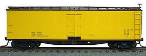 Accurail 40 Wood Reefer - Plastic Kit - Data Only HO Scale Model Train Freight Car #4895