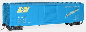 Accurail 50 AAR Riveted Boxcar Kit Louisville & Nashville HO Scale Model Train Freight Car #5030