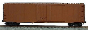 Accurail 50 AAR Plug Door Riveted Boxcar Kit Undecorated HO Scale Model Train Freight Car #5100