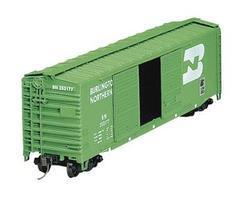 Accurail 50 AAR Dbl Door Riveted Boxcar Kit Burlington Northern HO Scale Model Train Freight Car #5203