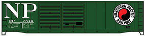 Accurail 50 Steel Double Door Boxcar Northern Pacific HO Scale Model Train Freight Car #5235