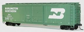 Accurail 50 Combo Door Riveted Boxcar Kit Burlington Northern HO Scale Model Train Freight Car #5315