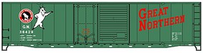 Accurail Ho 50Combo Dr Boxcar Gn