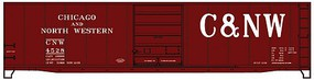 Accurail 50 Steel Boxcar Chicago & North Western HO Scale Model Train Freight Car #5502