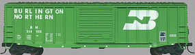 Accurail 50 Exterior Post Boxcar - Kit Burlington Northern HO Scale Model Train Freight Car #5602