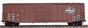 Accurail 50 Exterior Post Boxcar Kit Milwaukee Road HO Scale Model Train Freight Car #5623