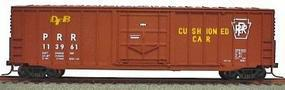 Accurail 50 Exterior Post Boxcar Pennsylvania RR Kit HO Scale Model Train Freight Car Kit #5632
