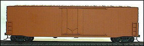 Accurail 50 Welded Plug-Door Boxcar Kit Undecorated HO Scale Model Train Freight Car #5800