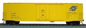 Accurail 50 Welded-Side Plug-Door Boxcar Kit Chicago & NW HO Scale Model Train Freight Car #5812