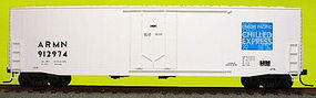 Accurail 50 Welded-Side Plug-Door Boxcar Kit Union Pacific HO Scale Model Train Freight Car #5814