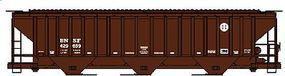 Accurail PS 4750 Grain Hopper BNSF HO Scale Model Train Freight Car #6510