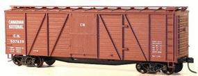 Accurail 40 6-Panel Wood Boxcar Kit - Canadian National HO Scale Model Train Freight Car #7201