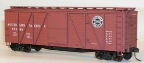 Accurail 40 6-Panel Wood Boxcar Kit - Southern Pacific HO Scale Model Train Freight Car #7202