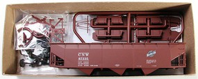 Accurail 70-Ton Offset-Side 3-Bay Hopper Kit Chicago & NW HO Scale Model Train Freight Car #75031